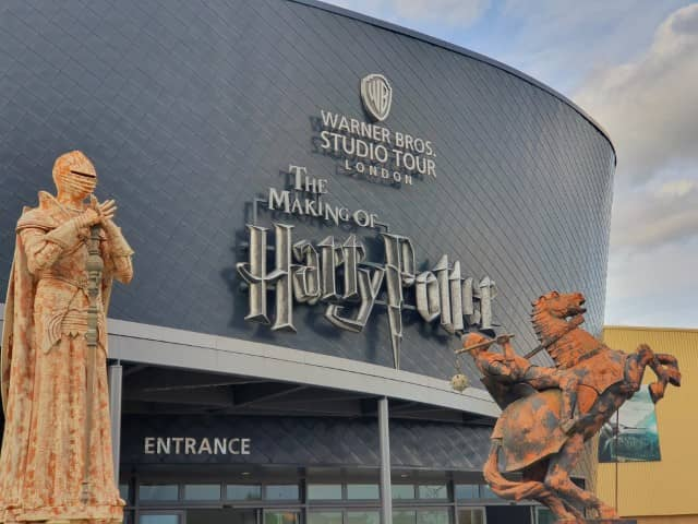 The entrance to the Harry Potter Studios