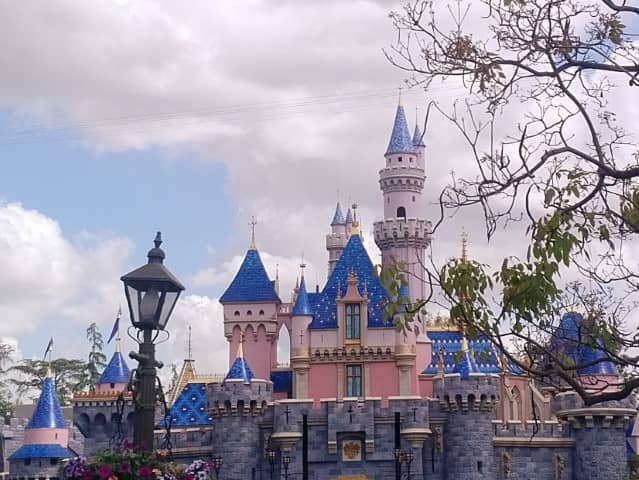 The fantasy world of Disneyland