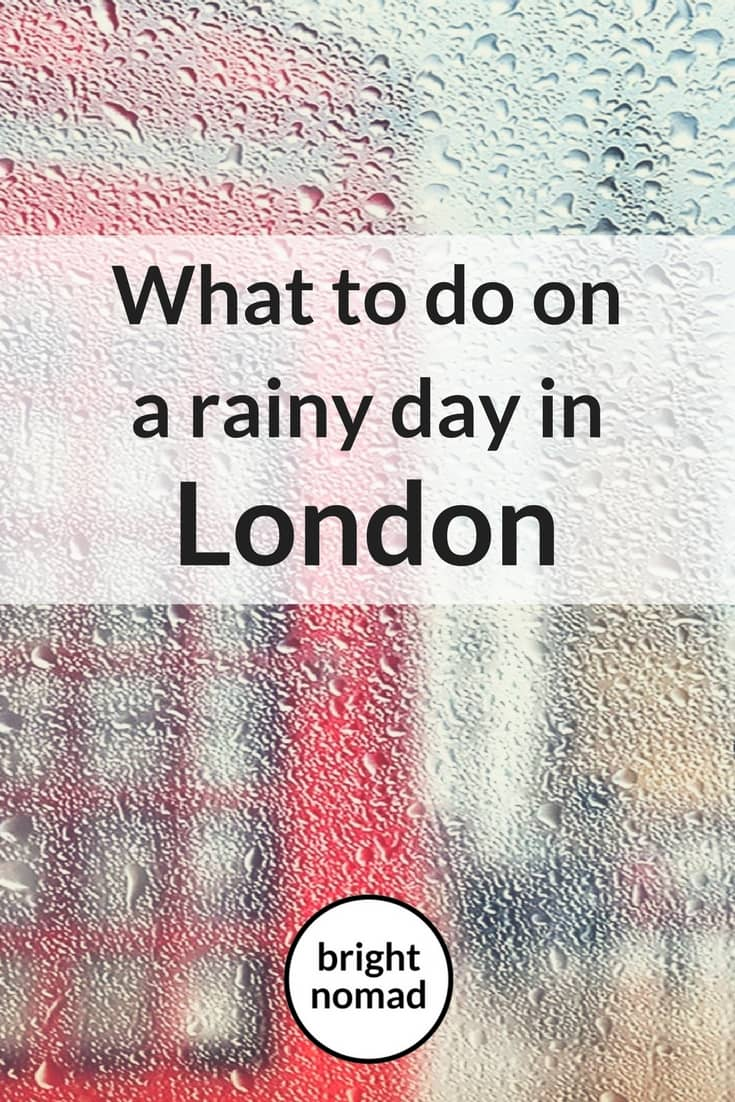 Things to do in London when it rains