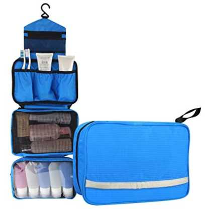 Toiletry Bag - smart packing tips for Europe