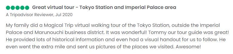 Tokyo historical virtual tours