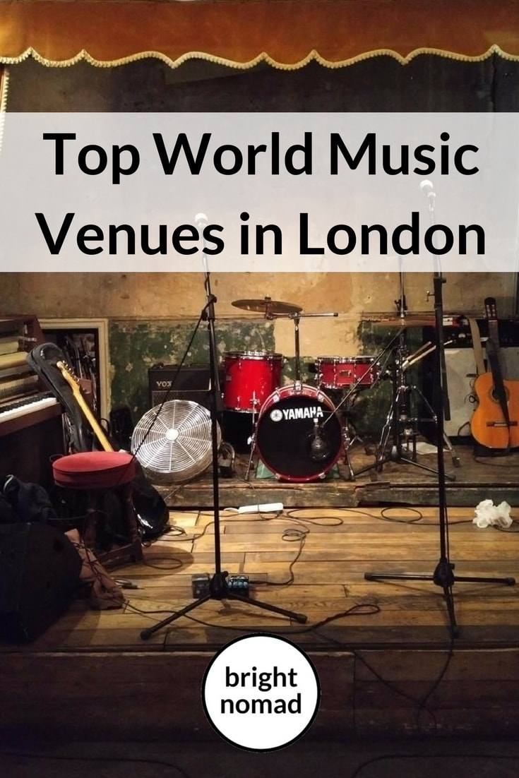 Top World Music Venues in London