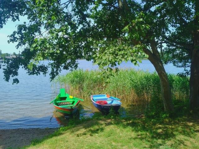 Trakai - boats by the lake