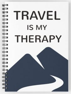 Travel is my therapy - quote