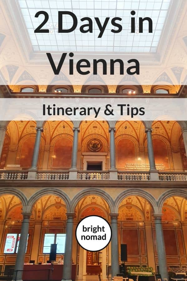 Two Days in Vienna Itinerary
