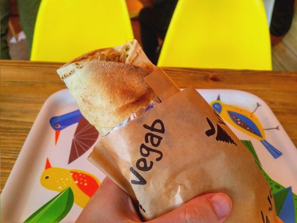 Vegab - vegan kebab in Krakow