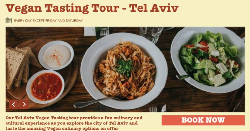 Vegan Tasting Tour Tel Aviv
