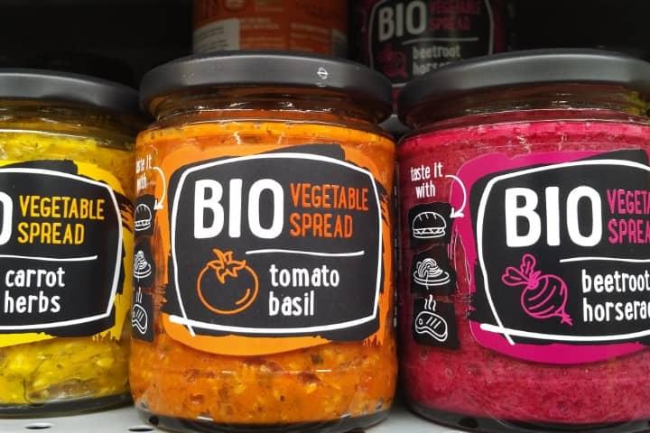 Vegan spreads in Kaunas