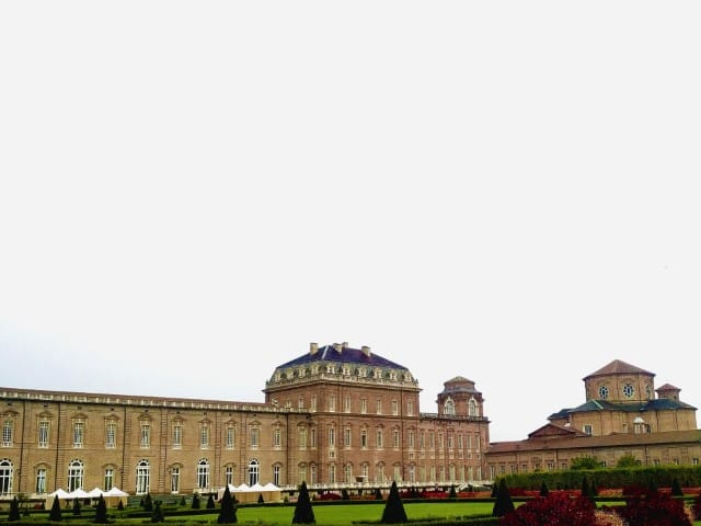 Venaria Reale - The palace from the gardens