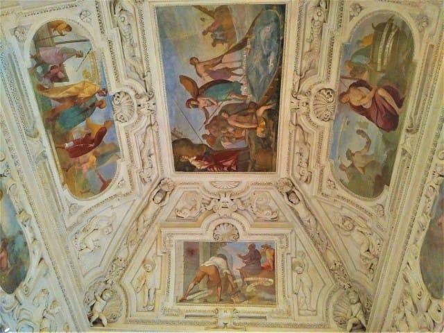 Venaria Reale painted ceilings