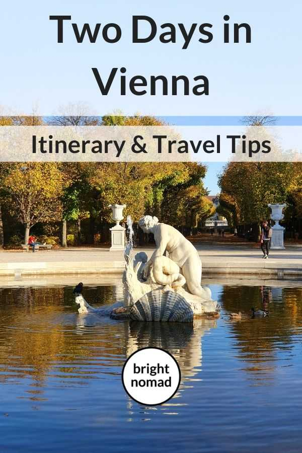 Vienna itinerary for two days