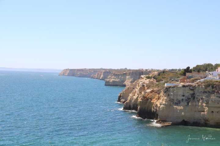 View from Carvoeiro Boardwalk
