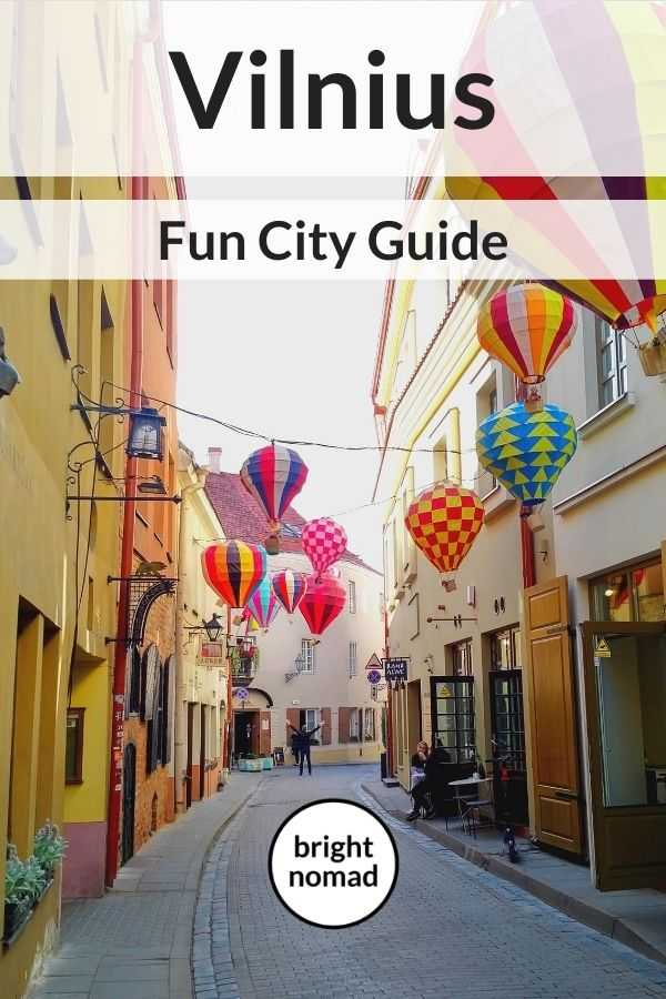 Vilnius fun city guide