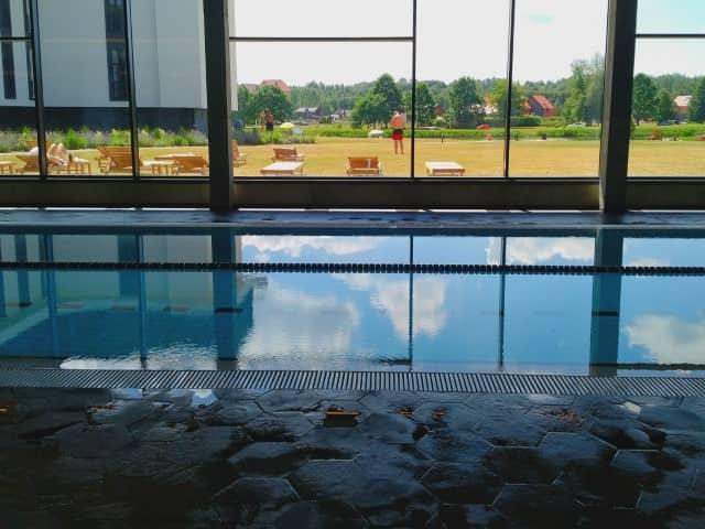 Vytautas Mineral Spa swimming pool