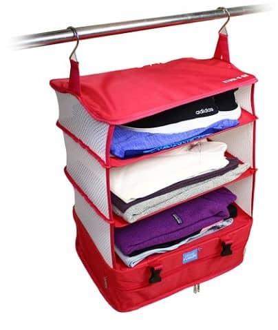 Packable Hanging Travel Shelves
