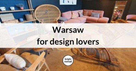 Warsaw design city guide
