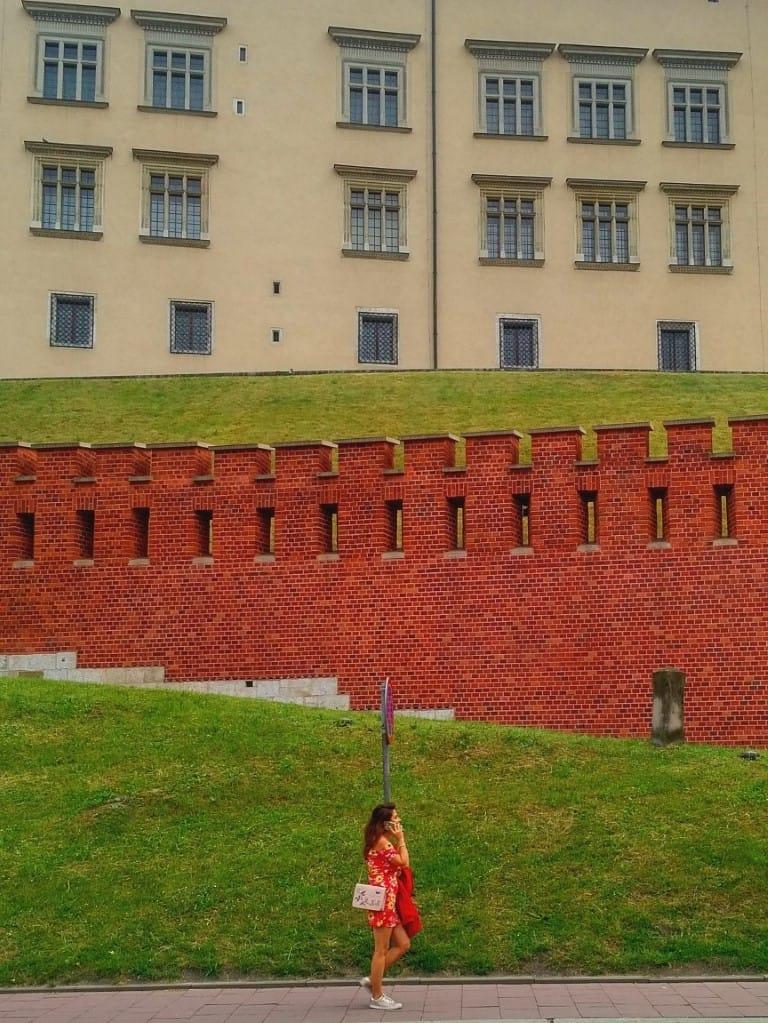 Wawel Castle from Kanonicza