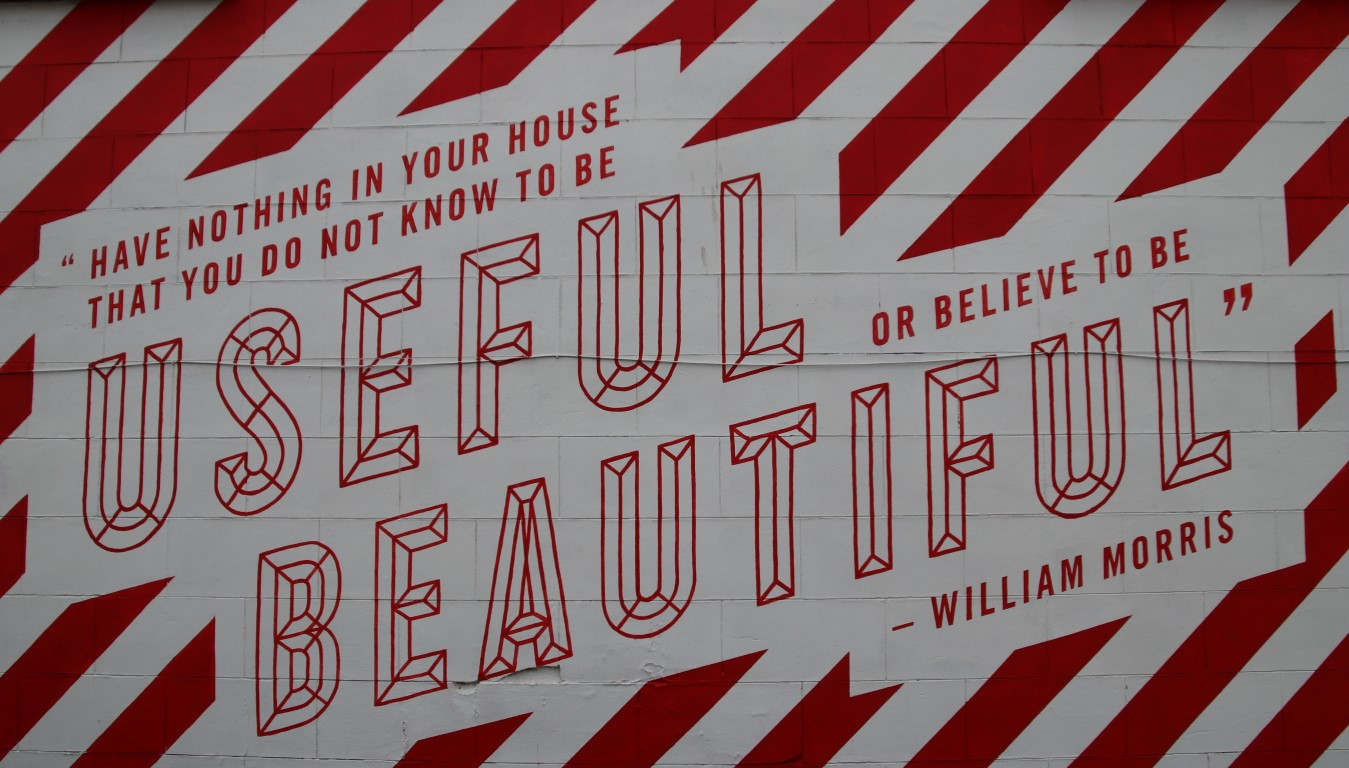 Unique museums in London - William Morris quote