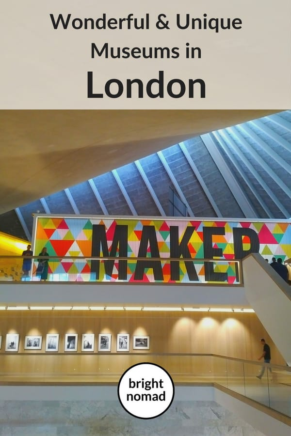 Wonderful and Unique Museums in London