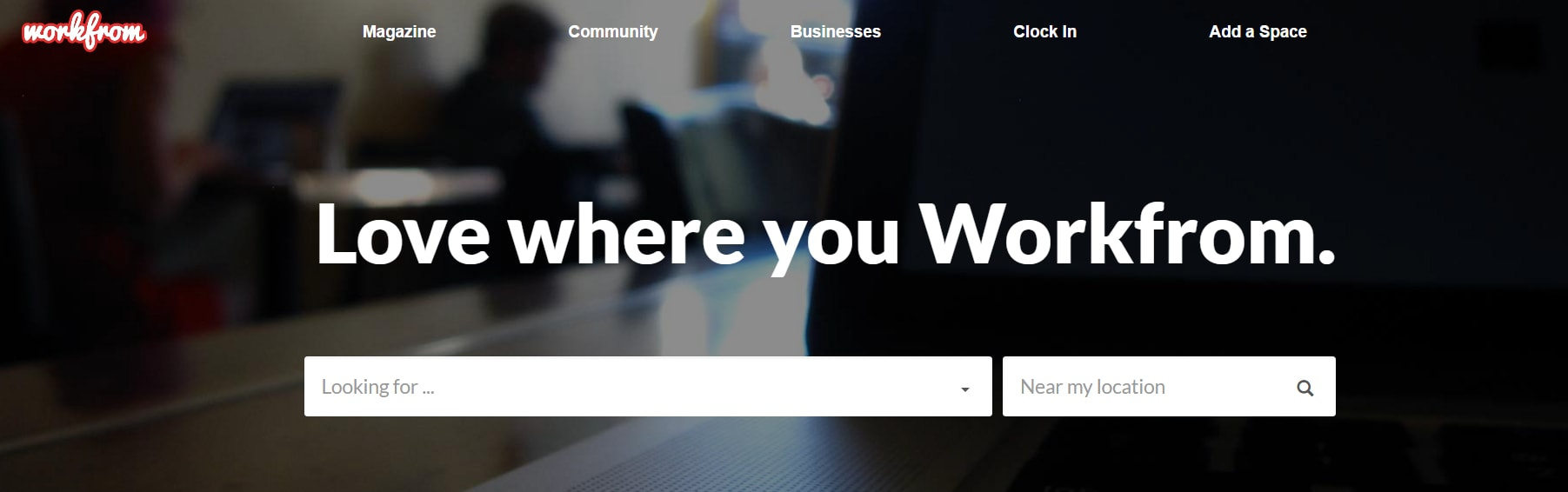 Workfrom - Coworking space directory