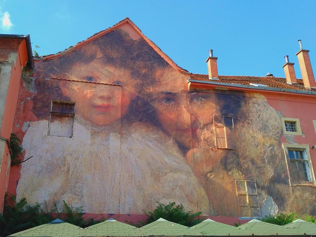 Julien de Casabianca street art in Zagreb