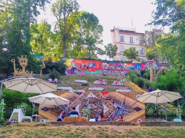 Street art at Art Park - Unique things to do in Zagreb