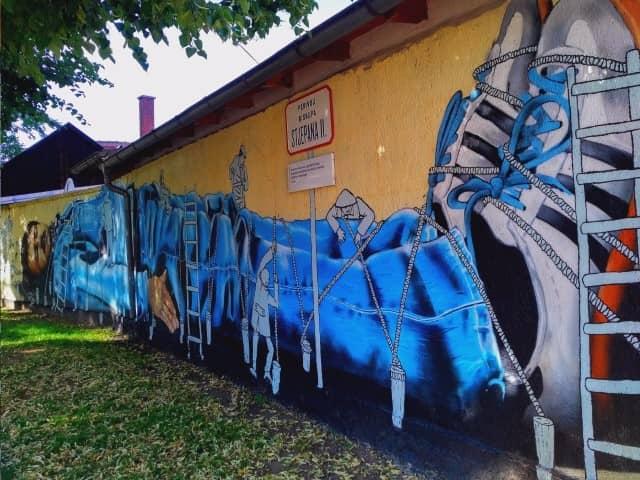 Zagreb Street Art Gulliver