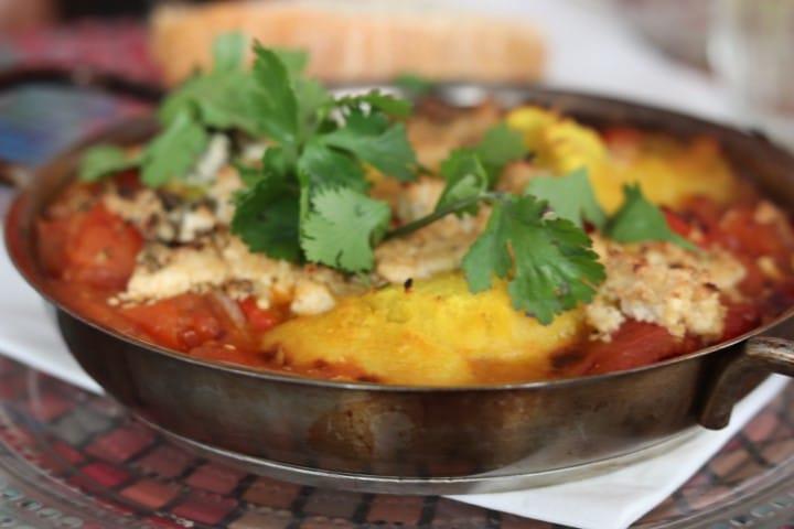 Vegan shakshuka - A traditional Israel dish made vegan
