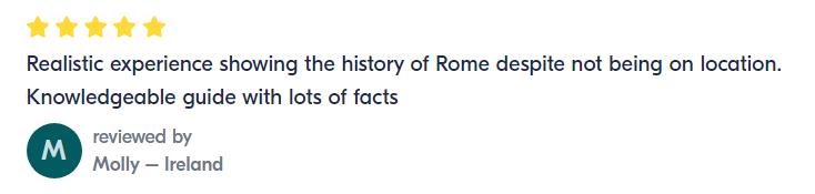ancient Rome virtual tour review