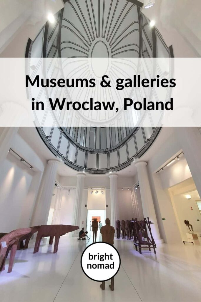 art galleries wroclaw