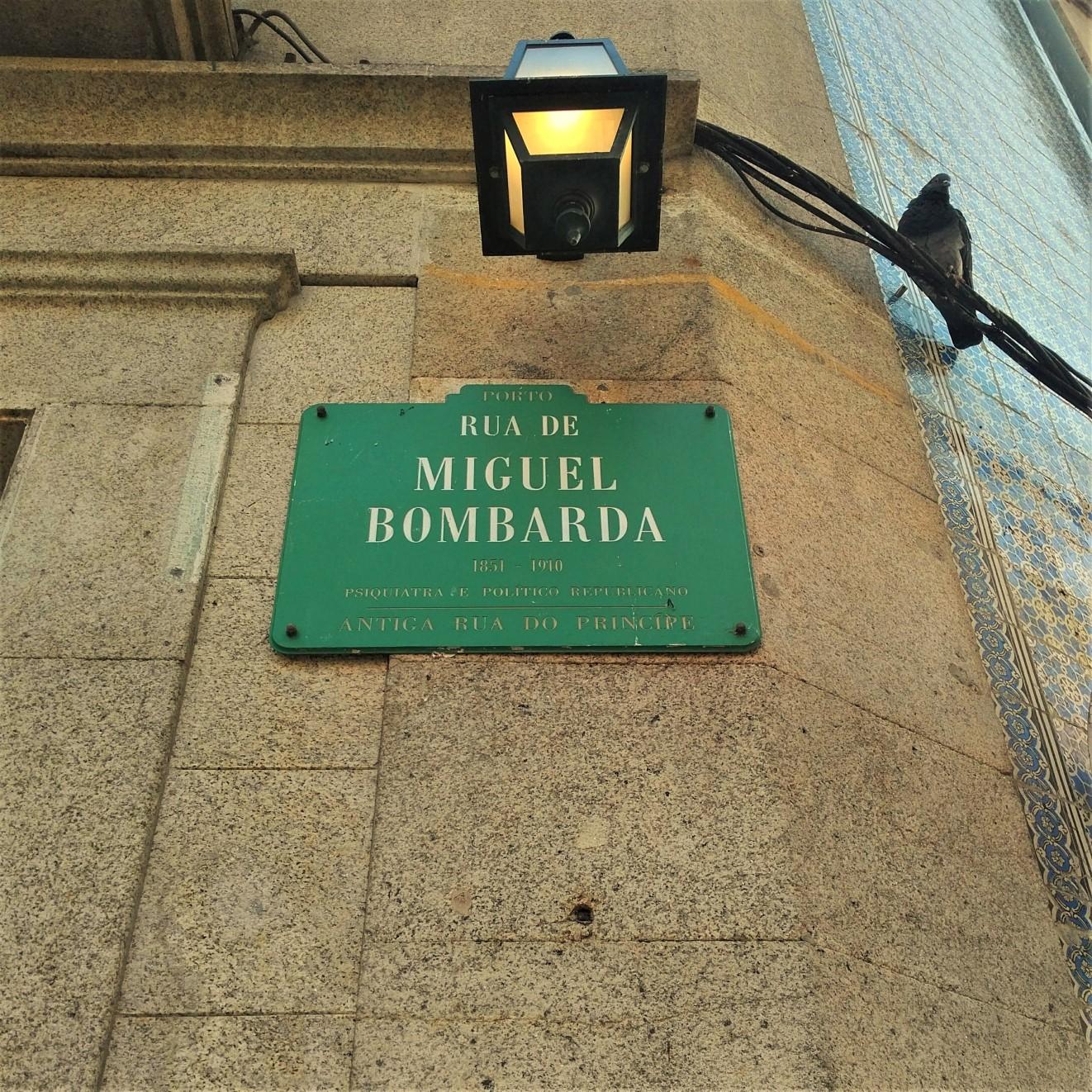 Porto design and art scene - Rua de Miguel Bombarda