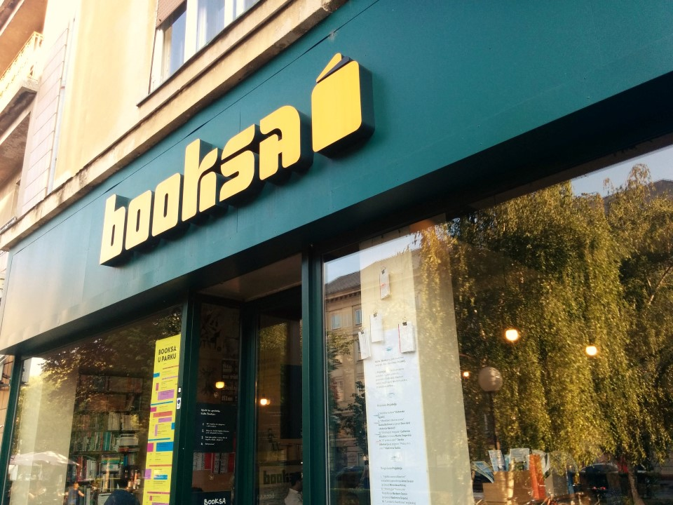 Booksa Cafe Bookshop - Cool Zagreb