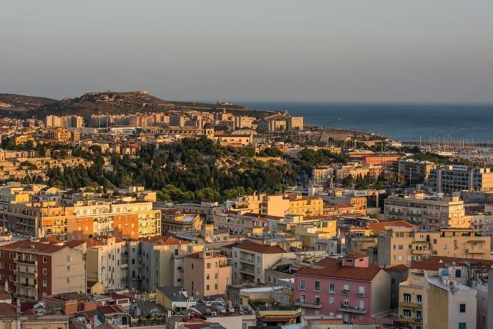 Cagliari Italy Sardinia