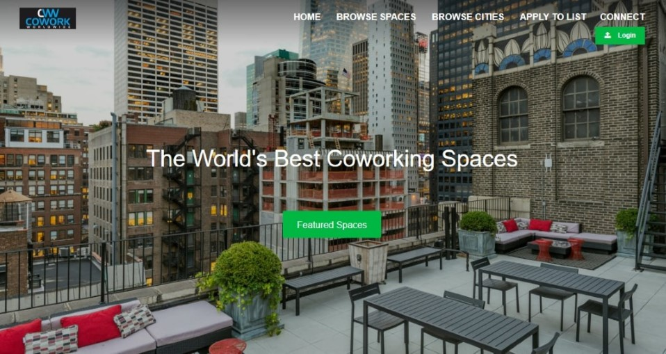 Cowork Worldwide - co-working space directory