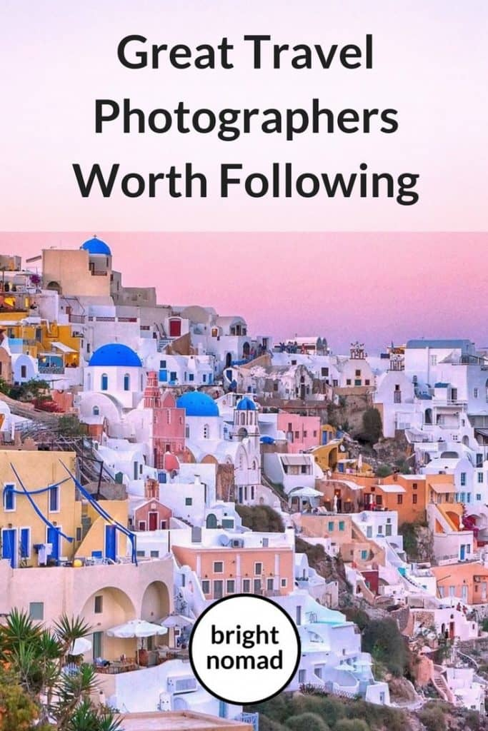 travel photographers to follow on Instagram