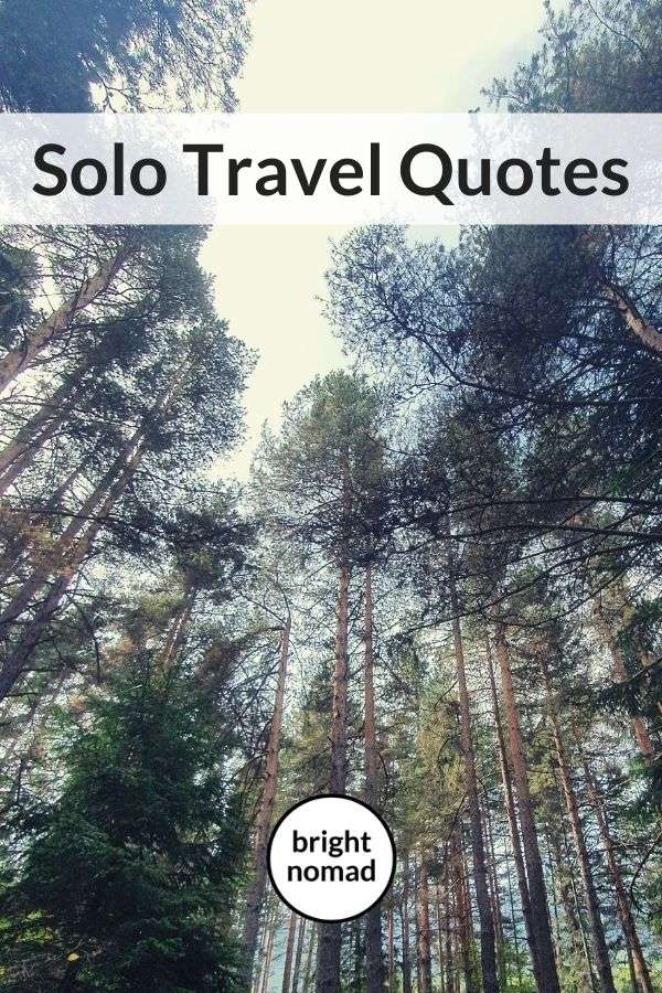 quotes on solo travel