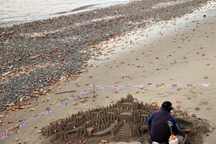 Sand Sculptures @ South Bank