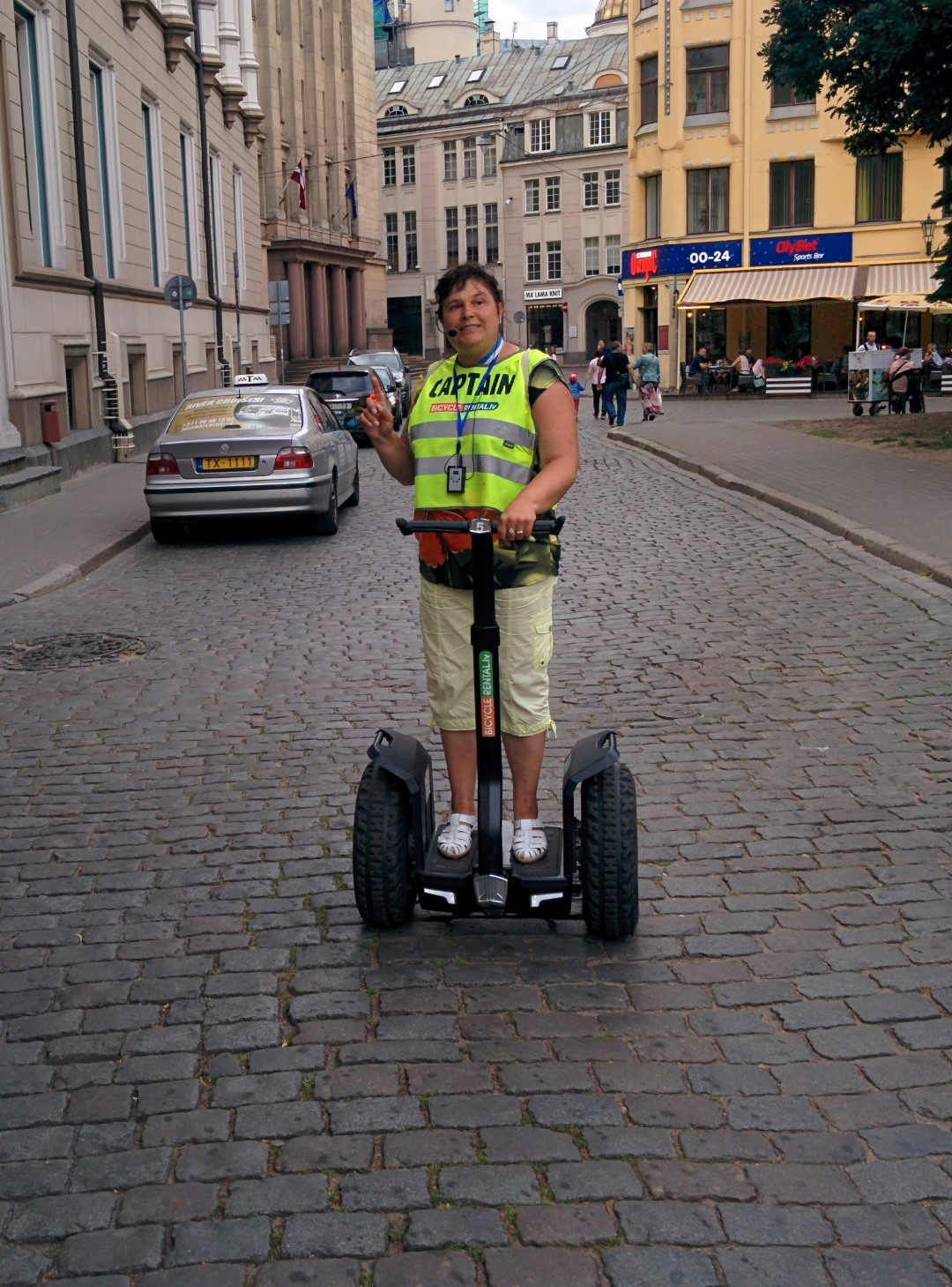Guided Segway tour in Riga
