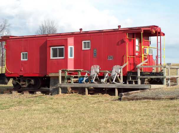 A unique Airbnb stay on a train